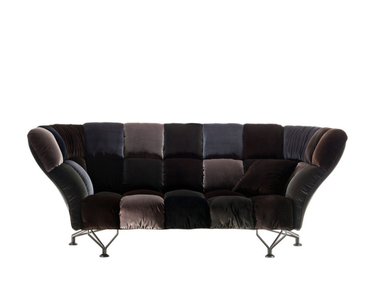 33 Cuscini: Sofa W 235 cm in different finishings