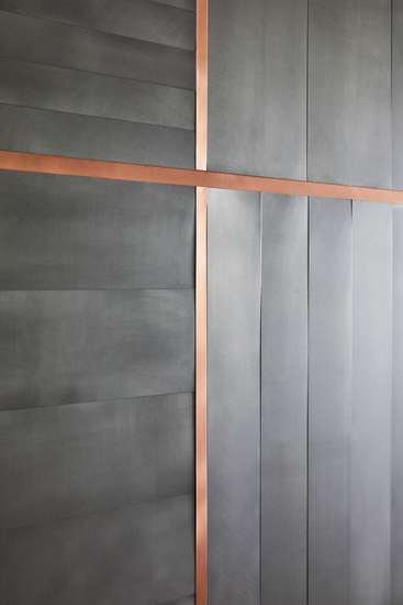 Albers: Wall cladding with modular pattern