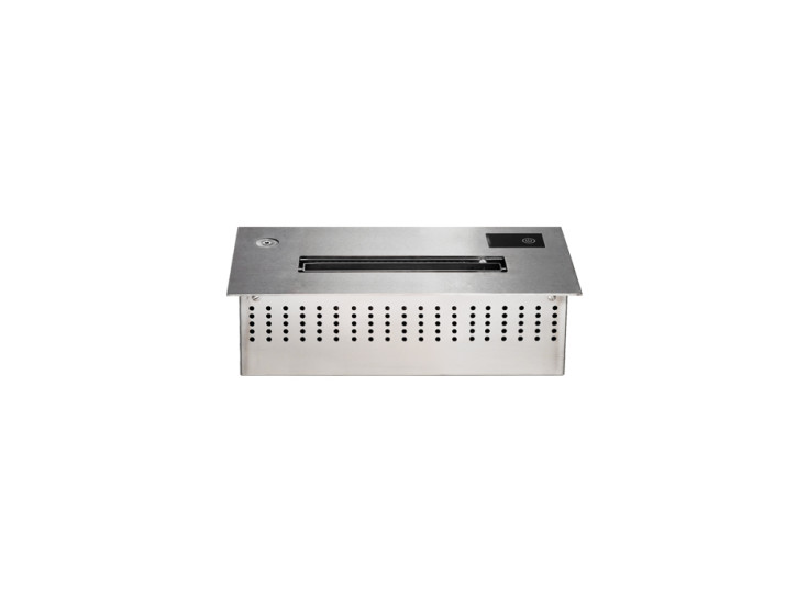 Player 40: Electronic recessed burner 430 mm x 230 mm