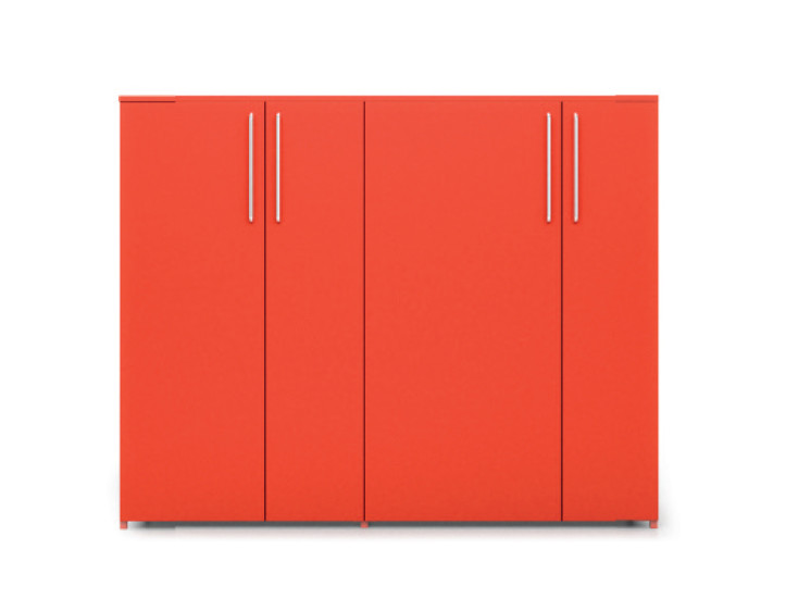Alfa-Box: Cabinet L 165 cm W 47.8 cm H 128 cm in different finishings