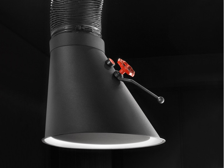 Mammut - Floor Mounted: Ceiling mounted extractor hood in different lengths