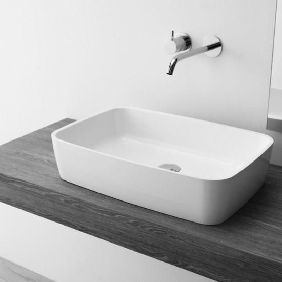 Free: Countertop washbasin 56 cm x 37 cm