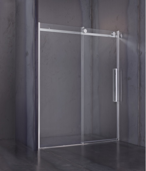 Giotto: Niche shower enclosure with sliding door