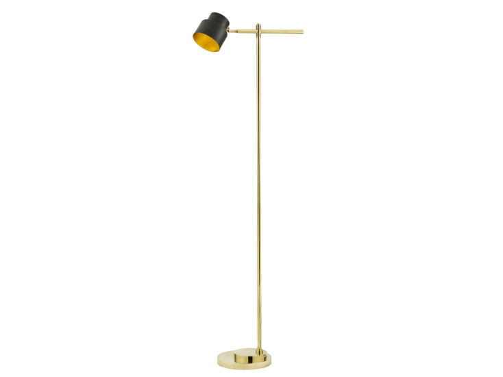 Satellite 01: Floor lamp available in different finishings