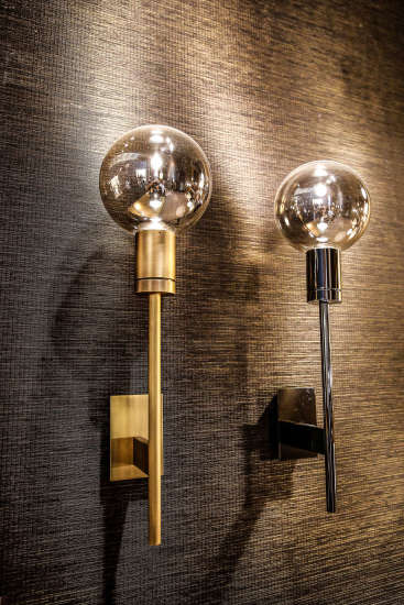 Solitario AP: Wall lamp in different finishings