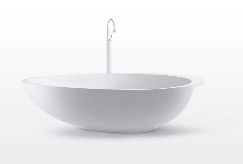 Party: Free standing bath in different colours