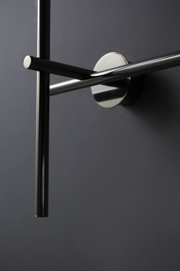 Kitami Wall: Wall lamp in different finishings