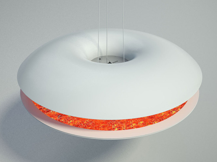Saturn I: Suspended decorative flame in different versions