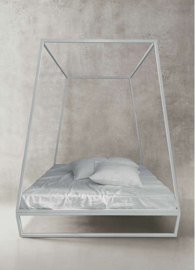 Asha Wikiup: Canopy bed available in different sizes and colours