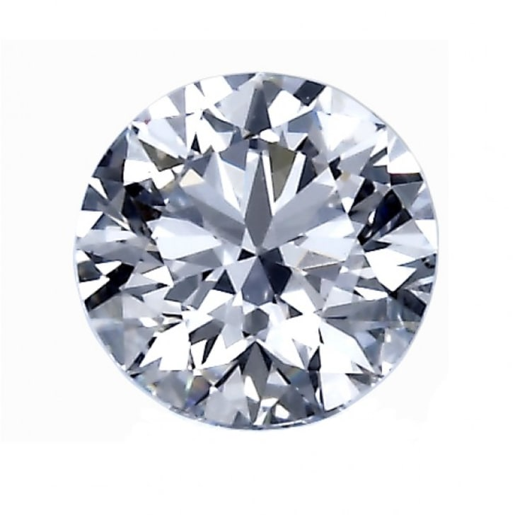 1.04 Carat E Color VVS2 Clarity Round Diamond Certified by GIA