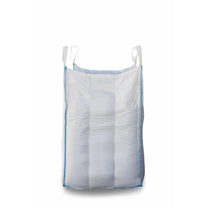 1.25 Tonne - Food Grade - Baffle Spout Top Spout Bottom - Bulk Bag - 105 x 105 x 120 CM