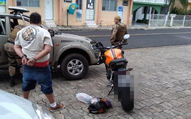 Polícia prende ex-conselheiro tutelar por tráfico em Herval