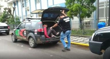 Polícia Civil prende mais três pessoas por ligação com tráfico de drogas em Joaçaba e região
