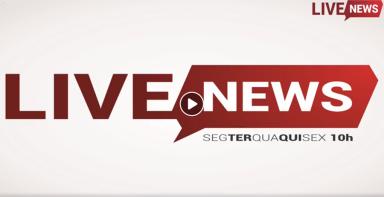 9ea838a9ce277 Assista o Live News de 2 de outubro com as notícias da região