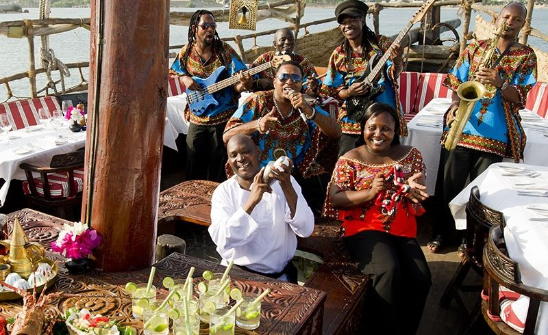 Dining on the Tamarind Dhow - Enchanting Travels