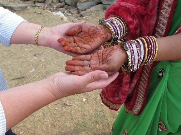 A Taste of Rajasthan in Photos: Heba: Sunset in Rural Rajasthan