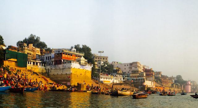 The ancient city of Varanasi