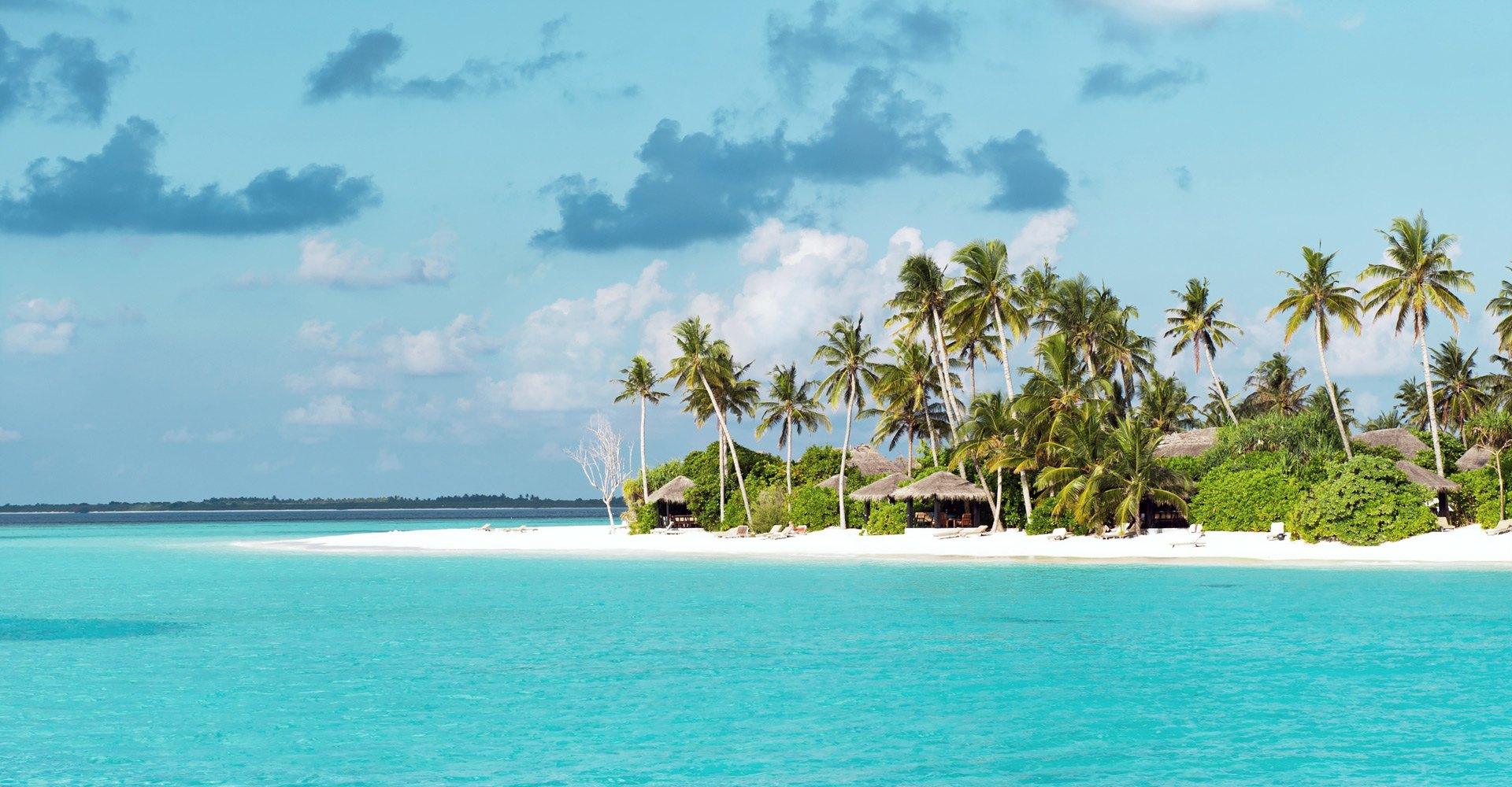 Tropical Beach Maldives Asia