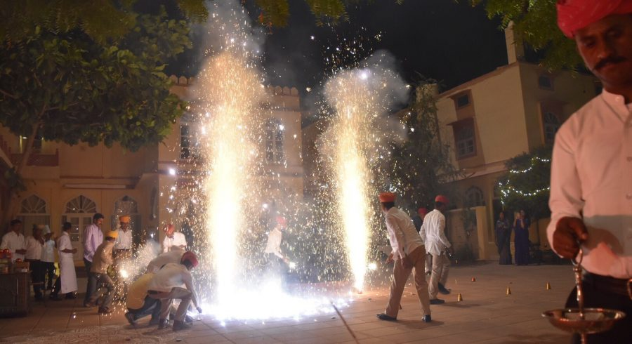 Celebrating Diwali in Rajasthan