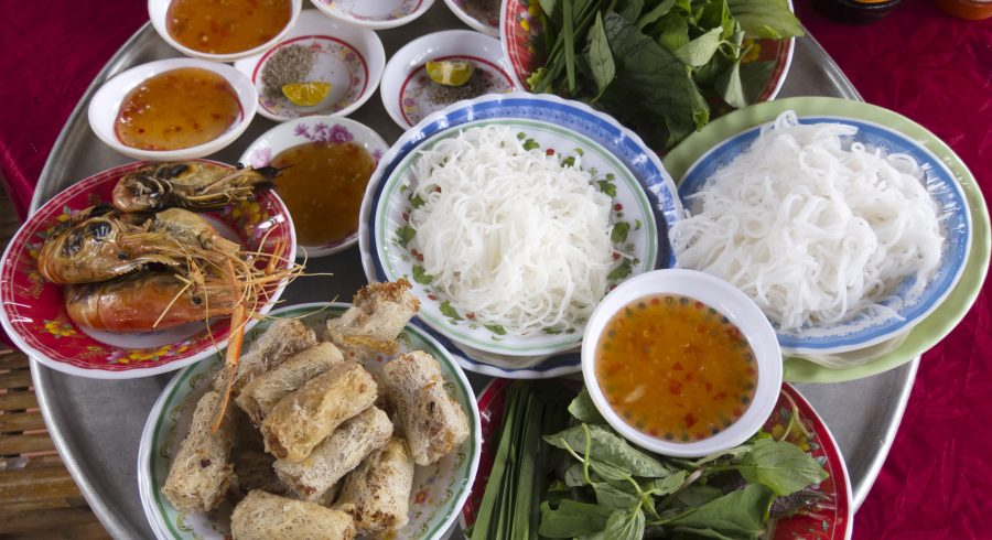 Halong Bay or Mekong Delta: A typical meal at the Mekong Delta