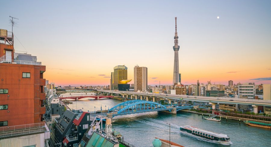 Things to do in Tokyo: Boat ride on the Sumida River
