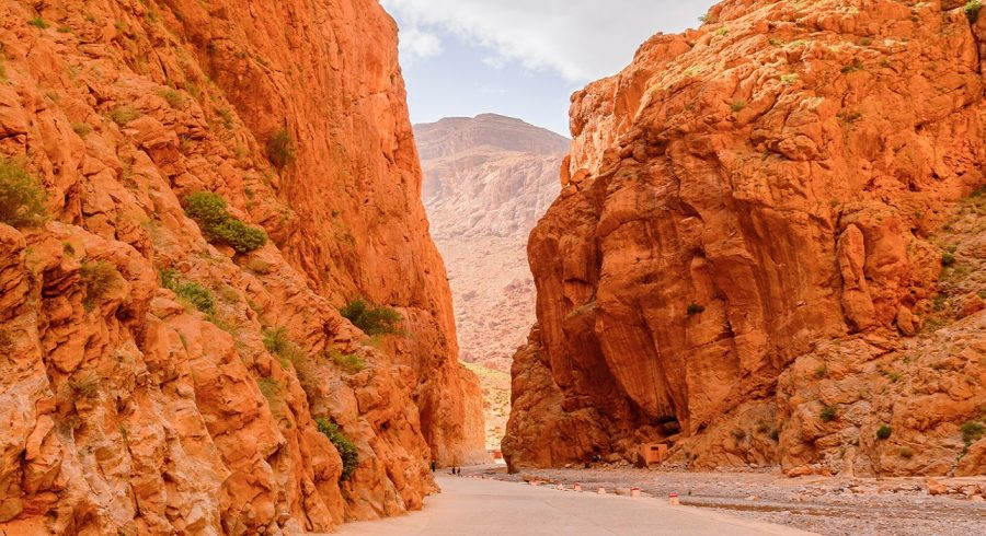 Enchanting Travels Morocco Tours a canyon in the High Atlas Mountains in Morocco