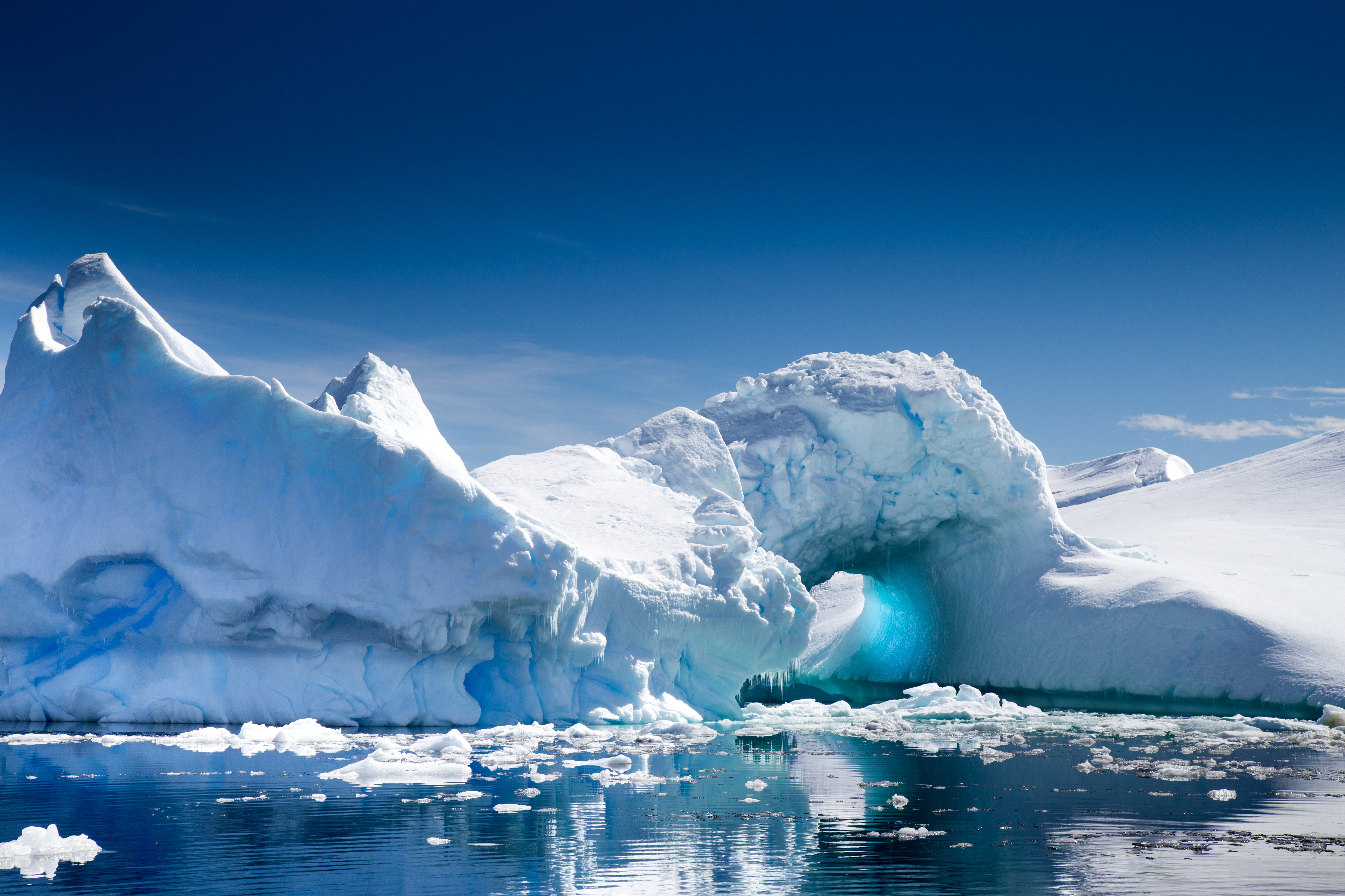A beautiful Iceberg in Pleneau Bay, Port Charcot, Antarctica vacation