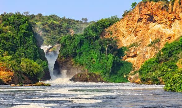 Murchison Wasserfälle, Uganda