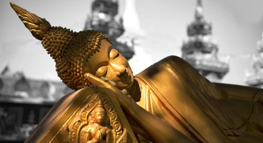 Tempel auf Asien Reise