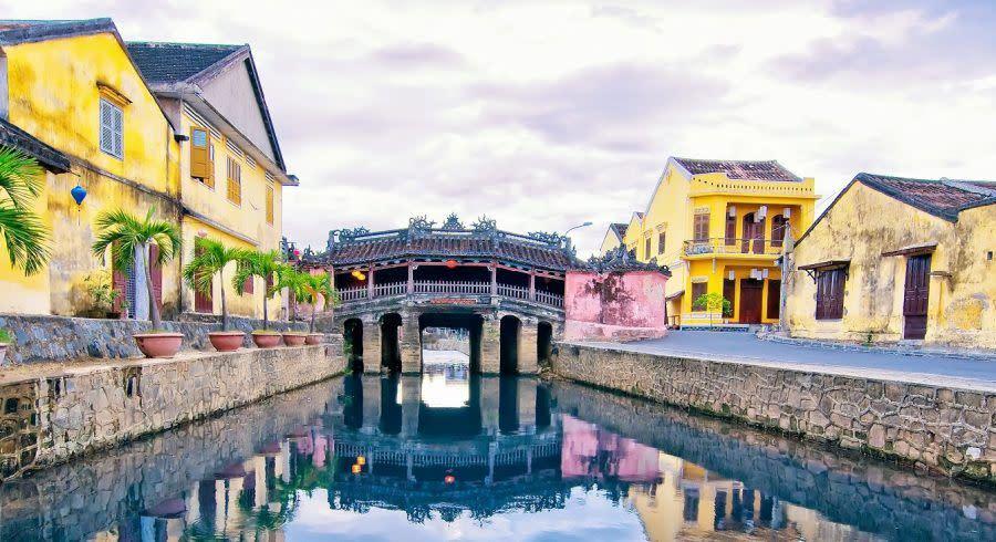 Die malerische Küstenstadt Hoi An, Vietnam