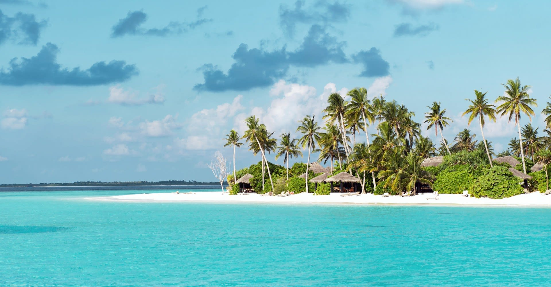 Tropical Beach Maldives Asia
