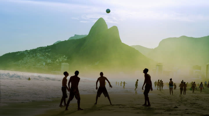 Soccer or futball is one of the most popular sports in Brazil.