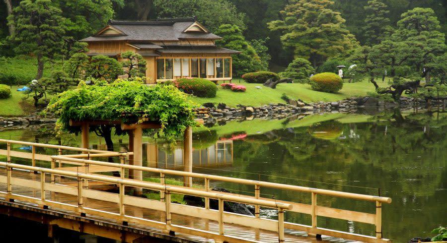 Hamarikyu Garten, Japan