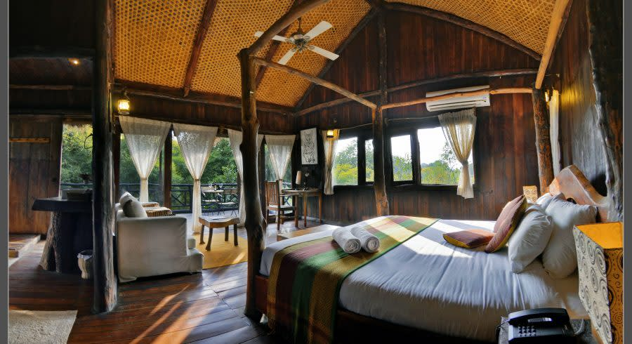 Enchanting Travels - Bandhavgarh Tree House Hideaway(Pugdundee Safari) Outdoor