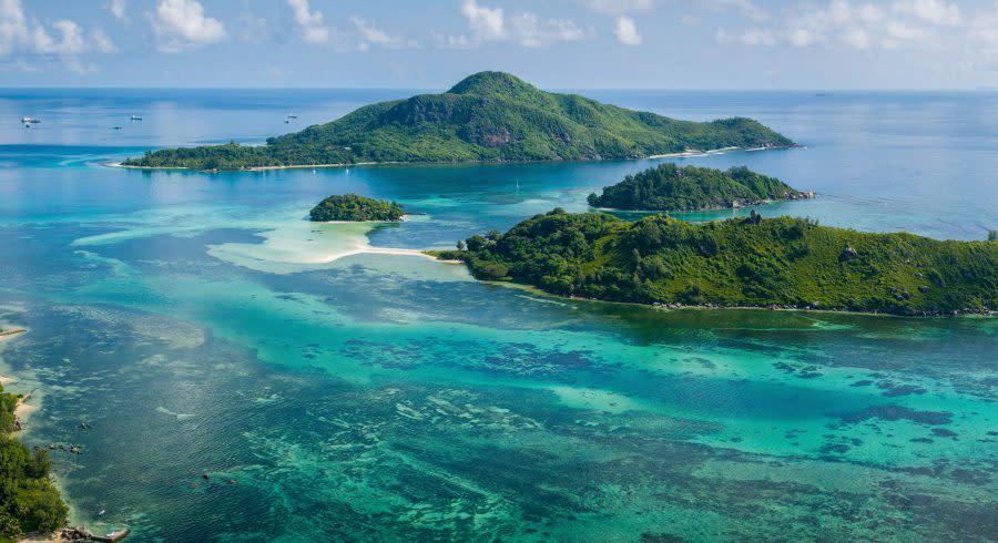 Saint Anne Marine Park Seychelles Mahé, Africa