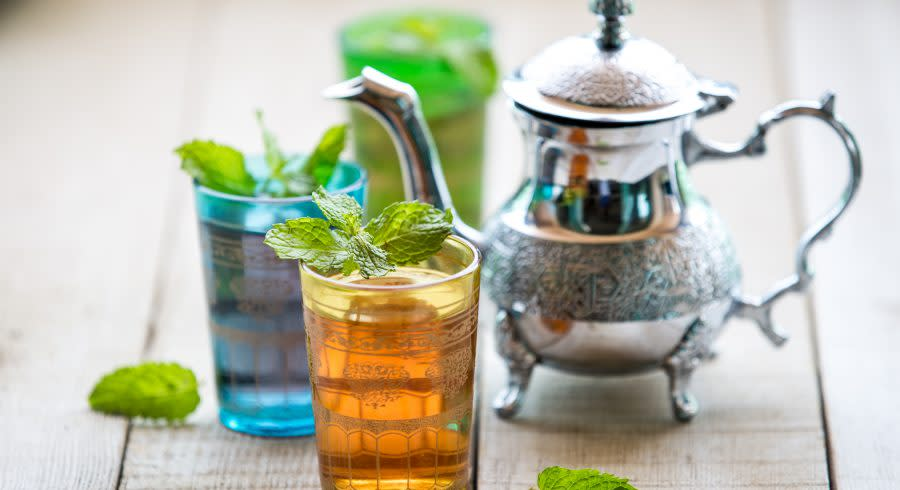 Mint tea on your Morocco trip