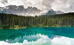 Enchanting Travels Italy Tours Lake Carezza, Dolomites, Italy