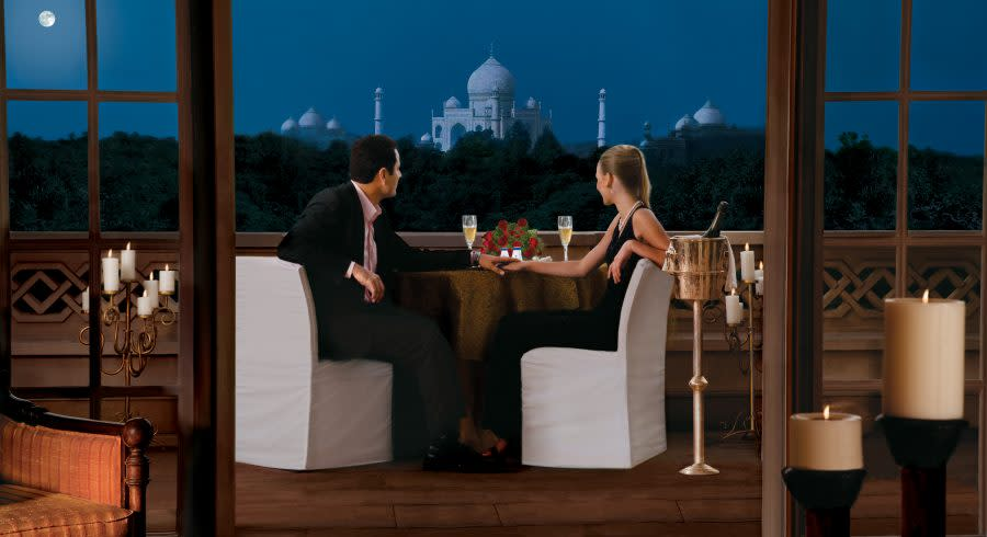 Oberoi Amarvilas - A room with a view