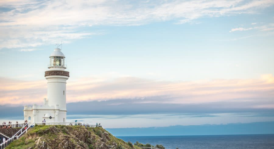 Lighthouse at Byron Bay