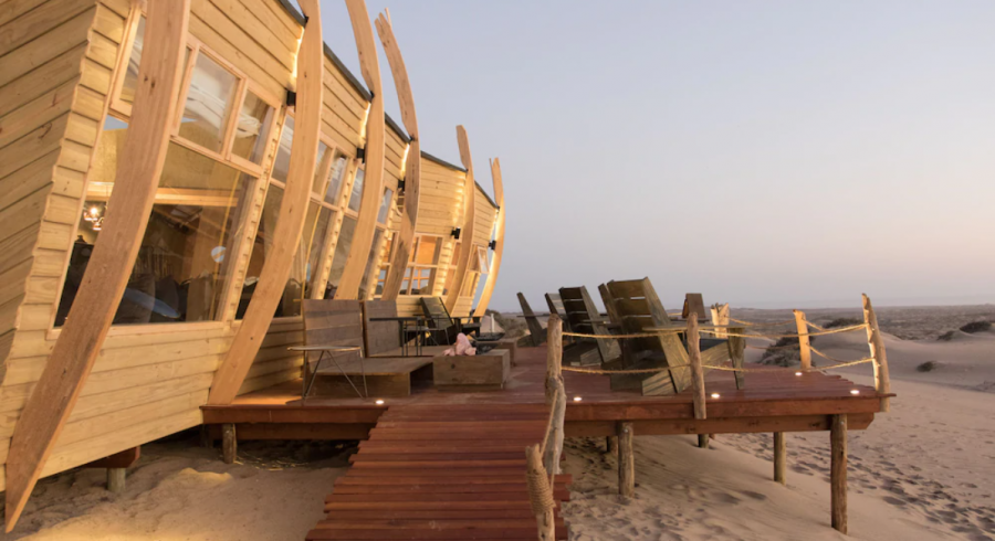 Shipwreck Lodge, Namibia - best luxury vacation spots in the world