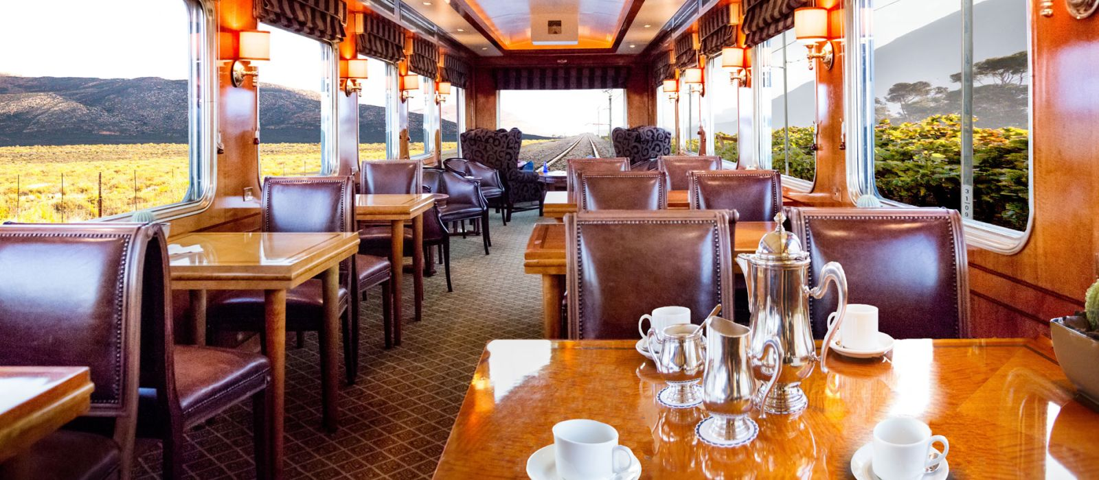 Hotel Blue Train (Pretoria – Kapstadt) Südafrika