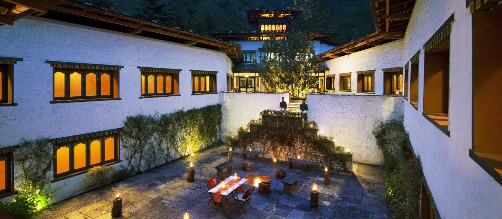 Hotel Uma Como Resort Bhutan