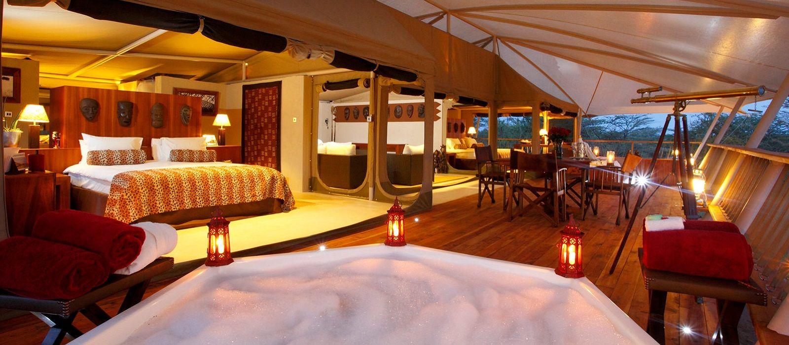 Hotel Mara Bushtops Luxury Tented Camp Kenya