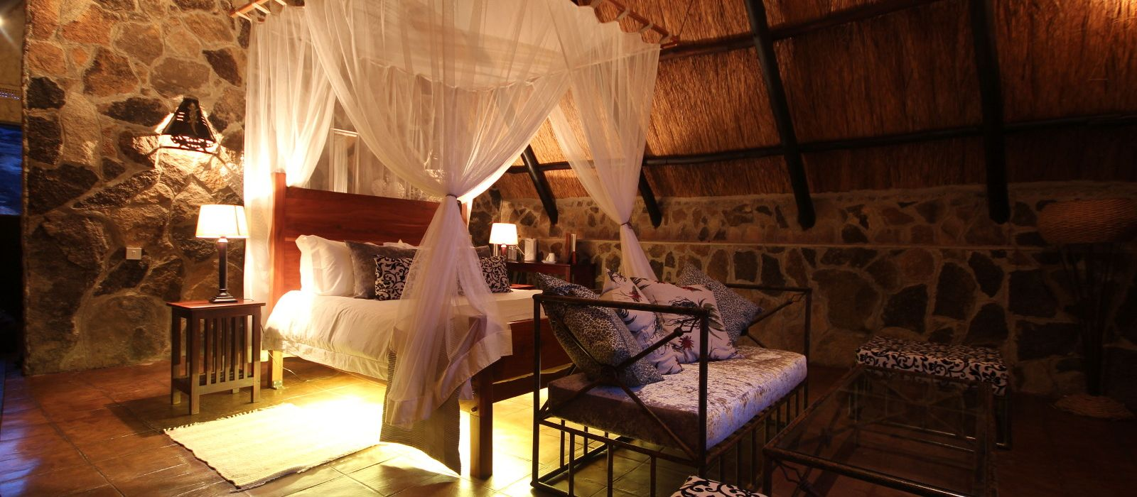 Hotel Big Cave Camp Simbabwe