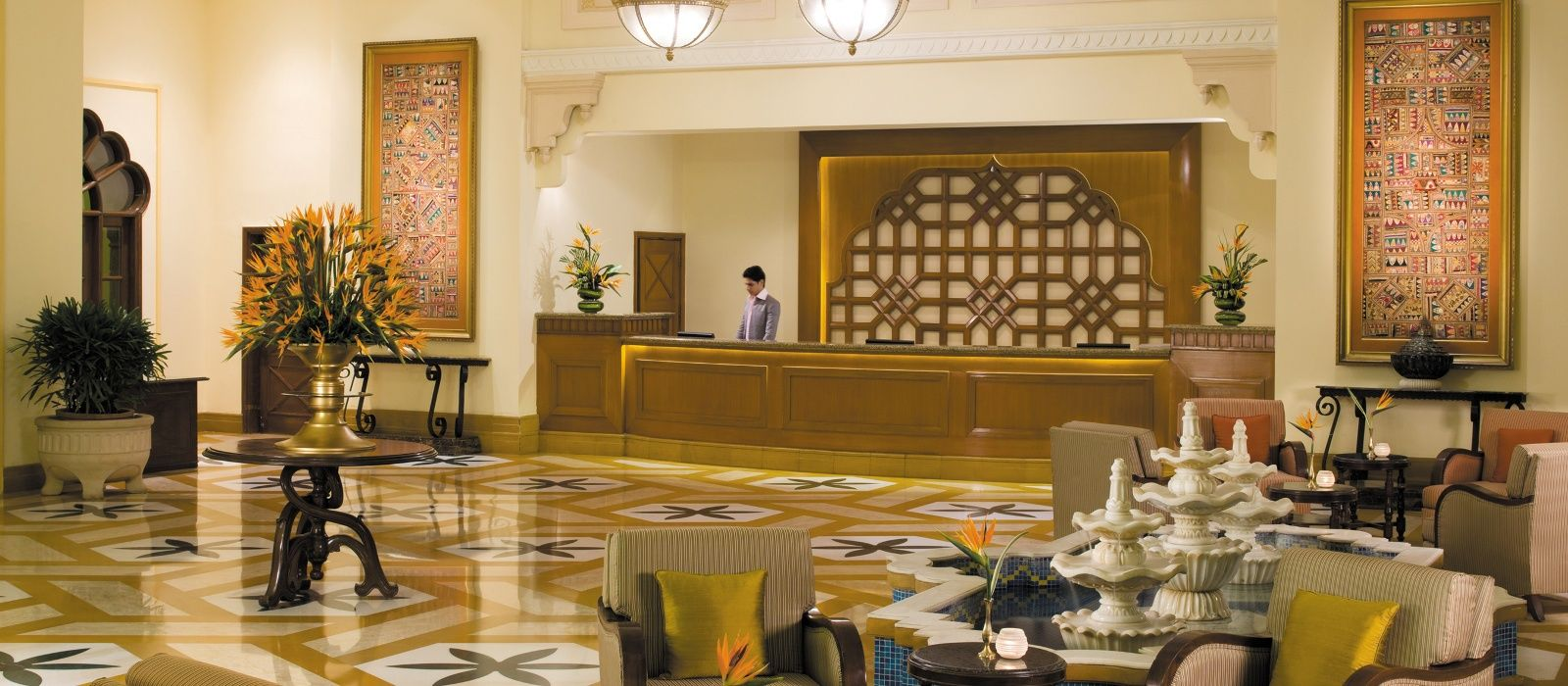 Hotel Vivanta by Taj – Hari Mahal North India
