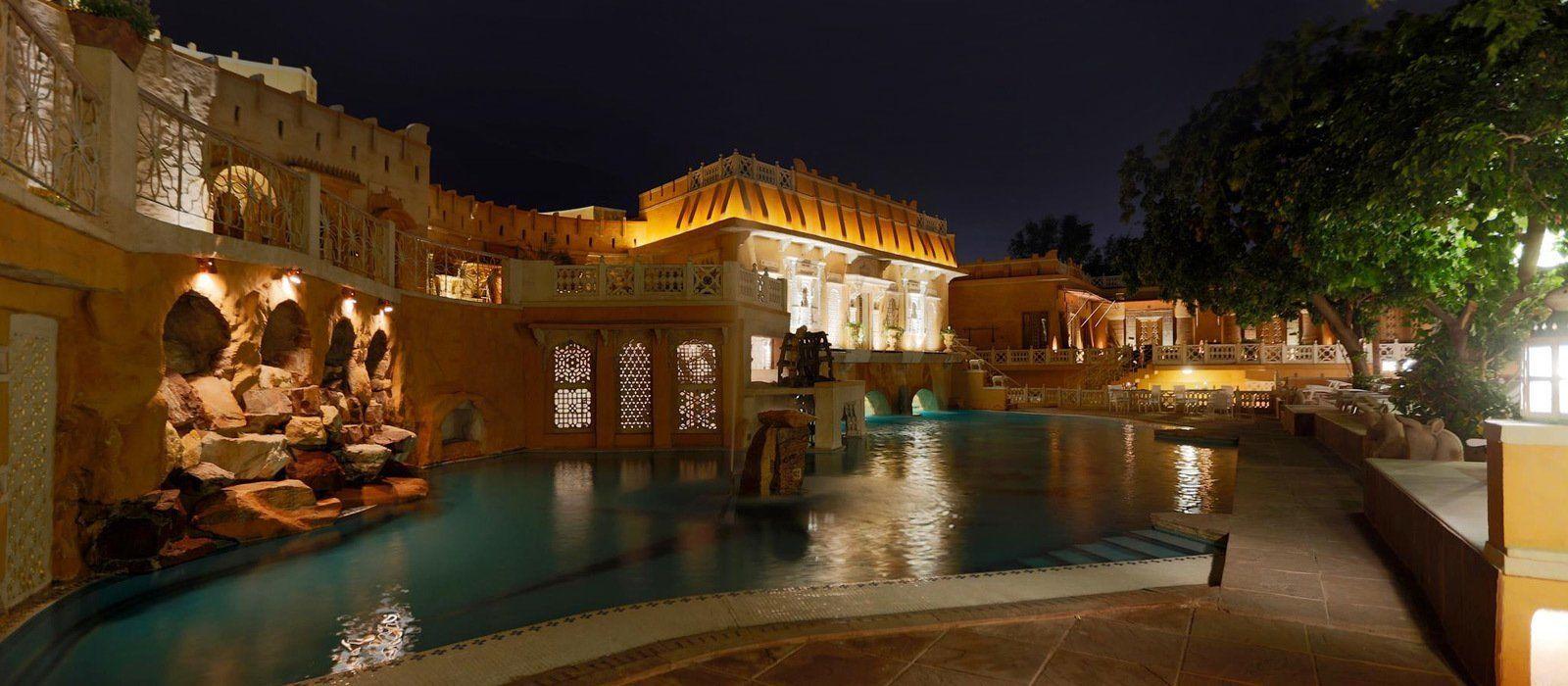 Hotel Ajit Bhawan Palace Nordindien