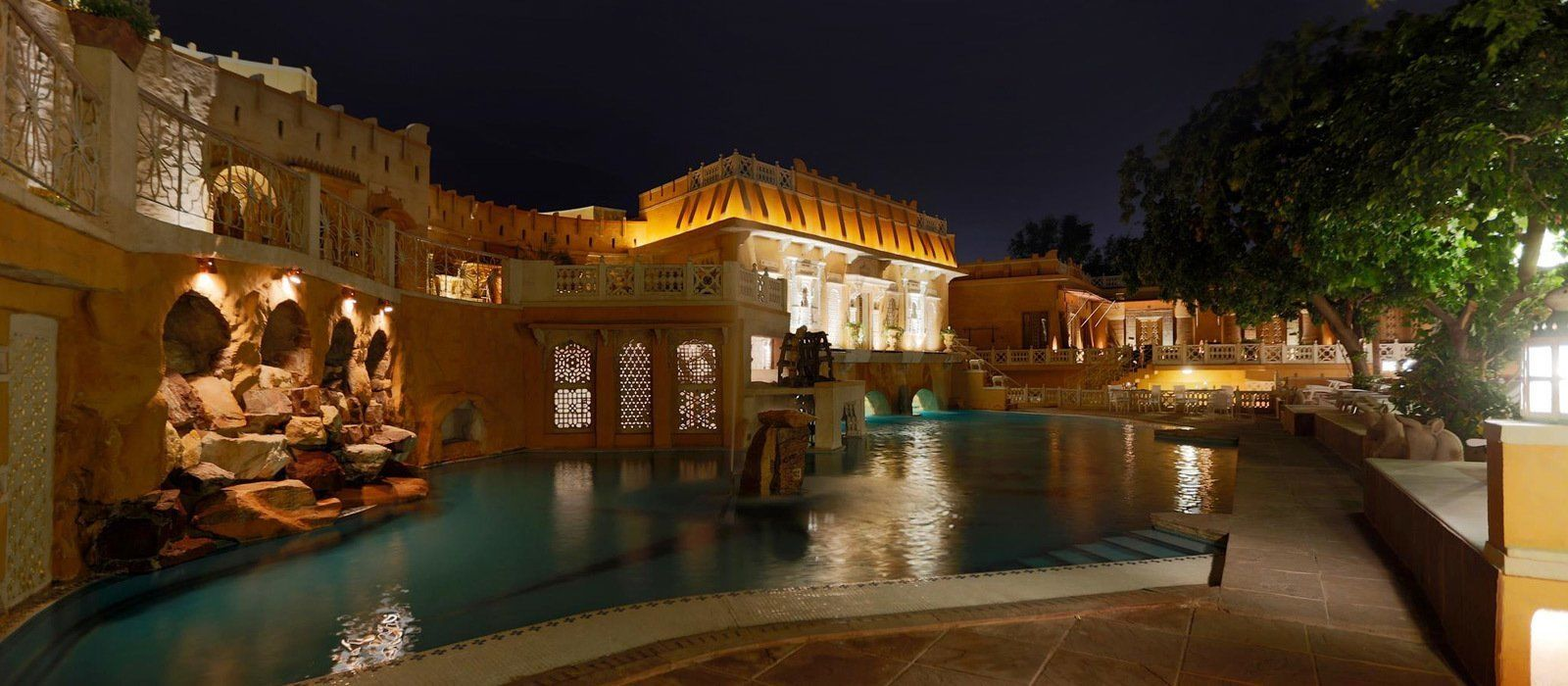 Hotel Ajit Bhawan Palace North India