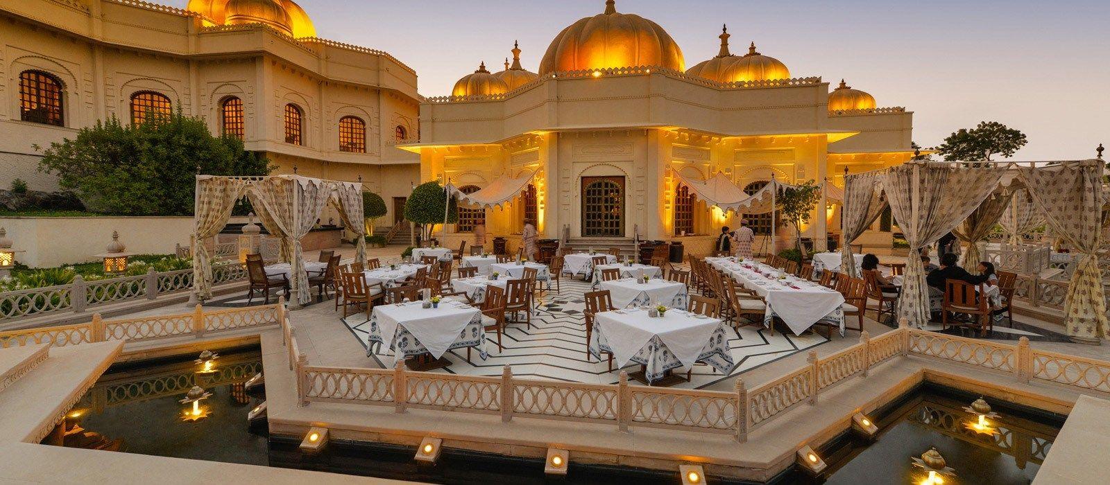 Hotel The Oberoi Udaivilas North India