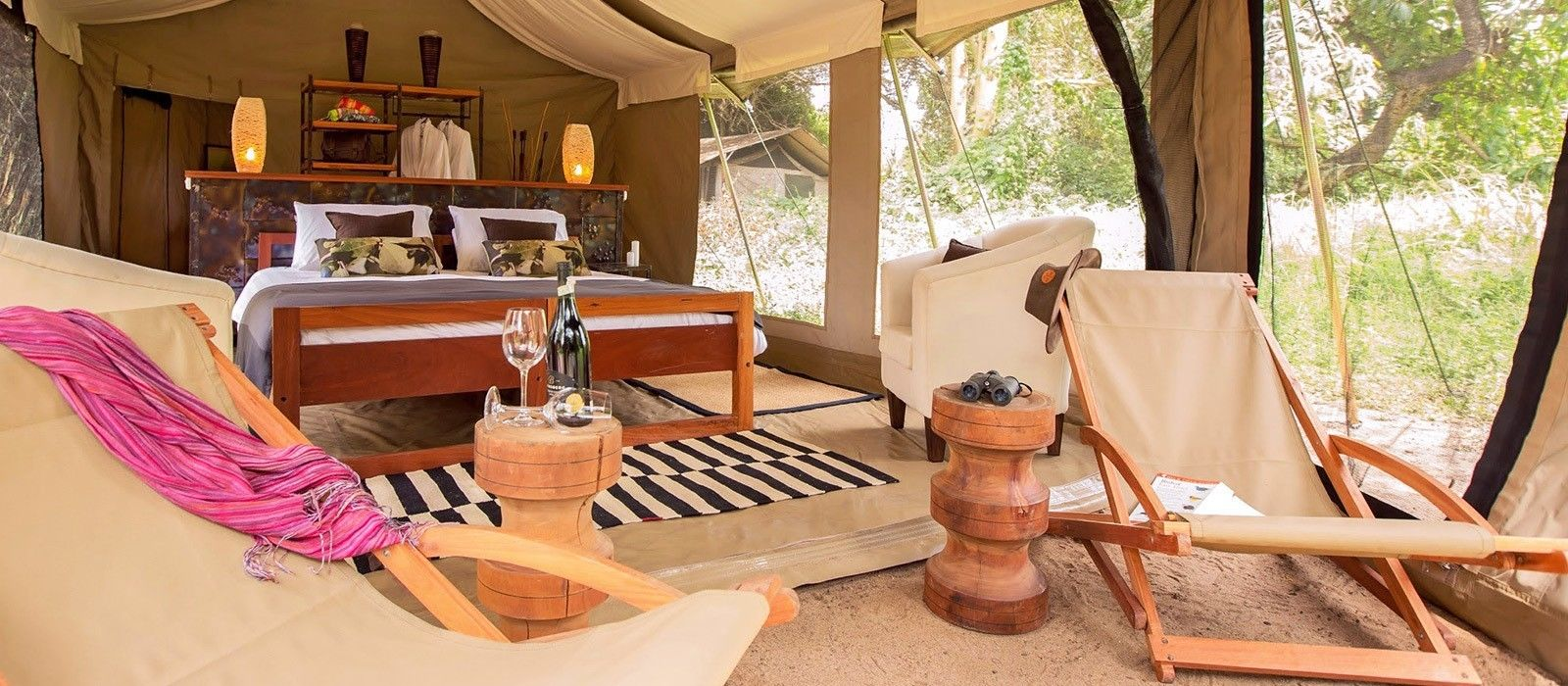 Hotel Namiri Plains Tented Camp Tansania