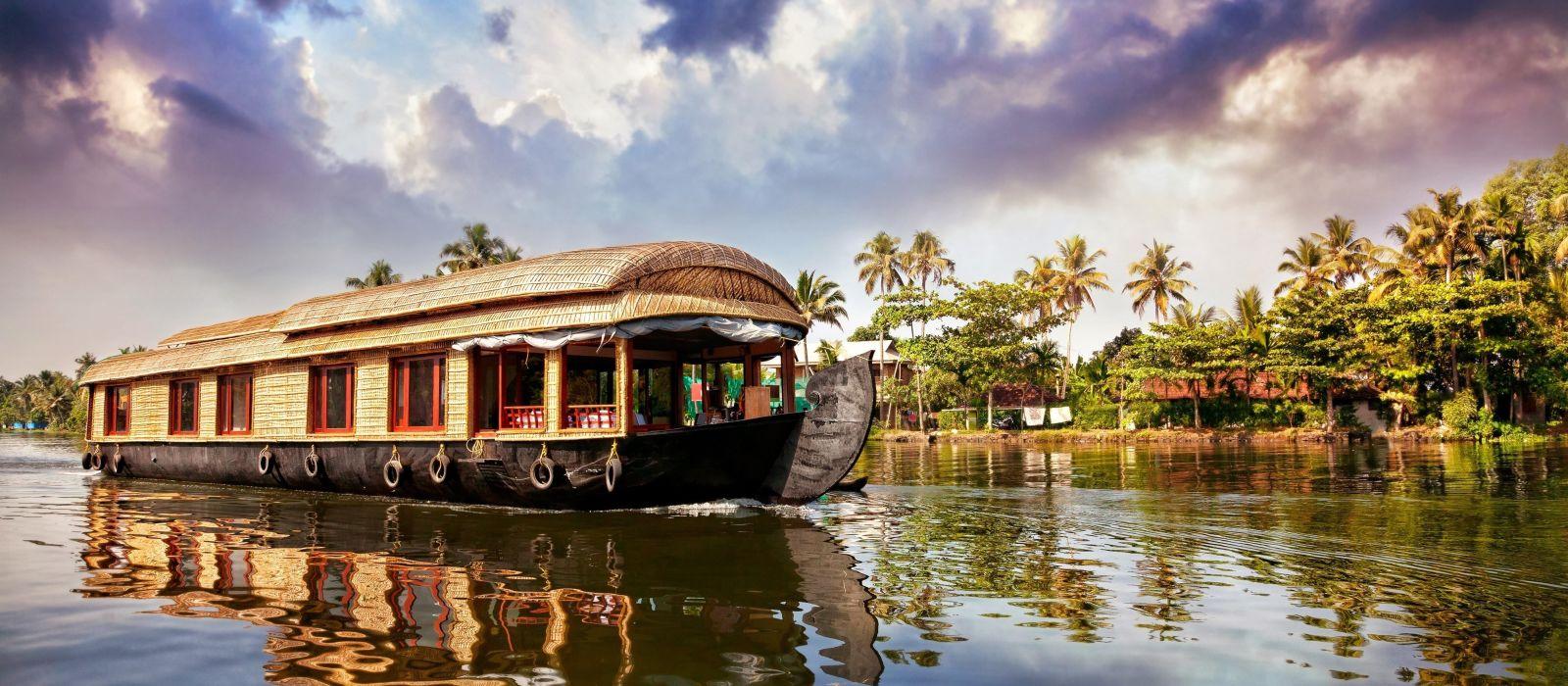 Reiseziel Alappuzha & Hausboot Südindien